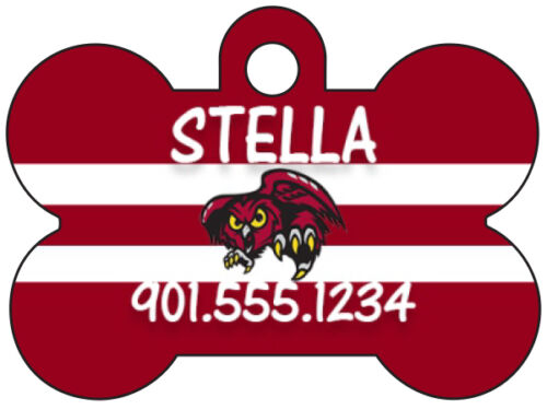 American Athletic Conference Football Dog Tag Pet ID Personalized Name Number