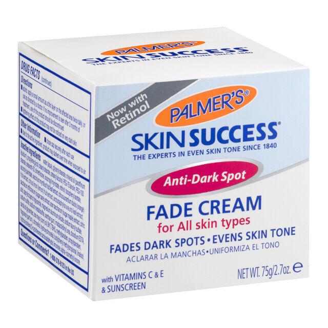 New Palmer's Skin Success Anti-Dark Spot Fade Cream For All Skin Types 2.7 Oz.