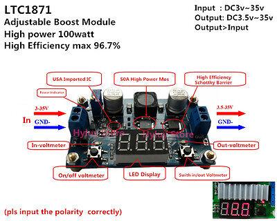 LED display DC 100w Step up Voltage Converter Module 5V 12V 19V 24V Regulator