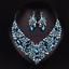 Fashion-Boho-Crystal-Pendant-Choker-Chain-Statement-Necklace-Earrings-Jewelry thumbnail 74