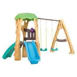 Little Tikes Tree House Swing Set Ebay