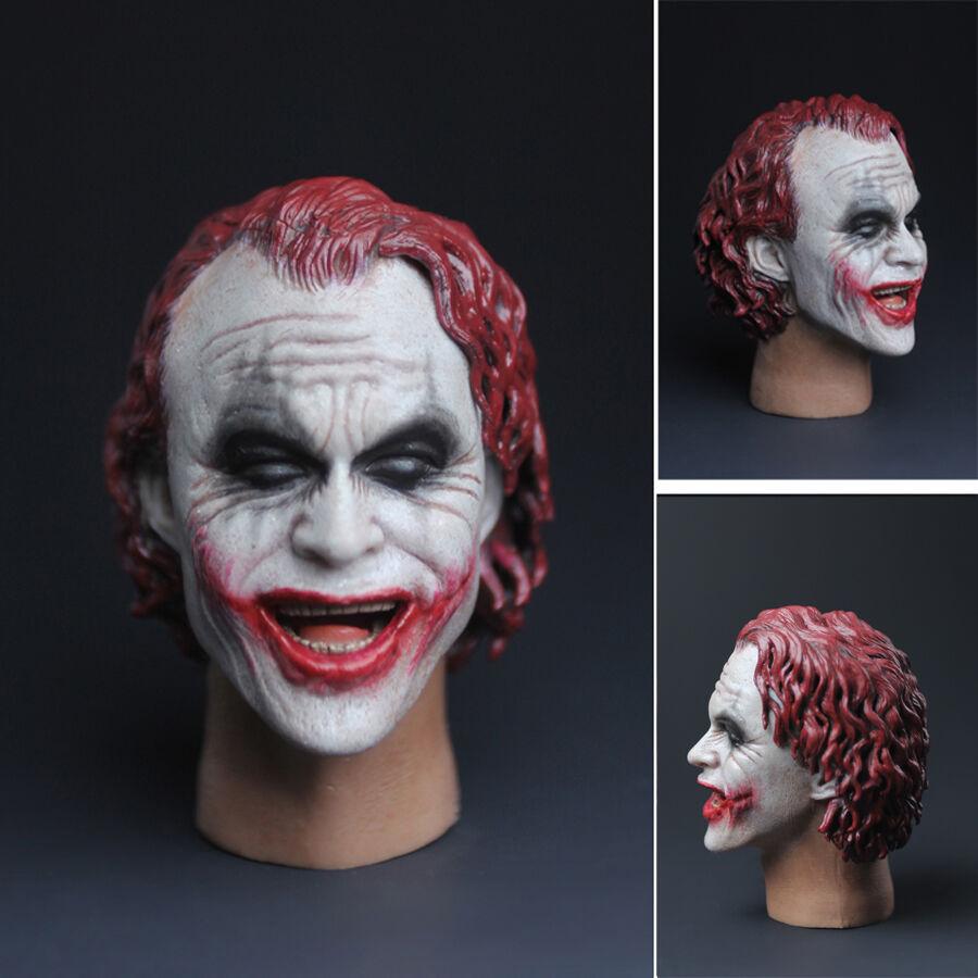 1 6 Red hair clown HEADPLAY McDonald's Smiling Hamburg uncle face Clown HEAD