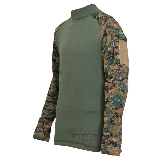 Tru-spec 2559 Woodland Digital Camo Tactical uniforme de combate Camisa-Envío Gratis