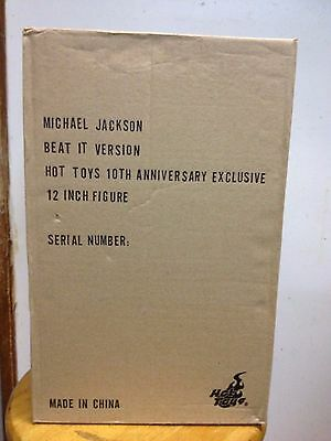 Hot Toys MIS 10 Michael Jackson Beat It Version 12 inch Action Figure