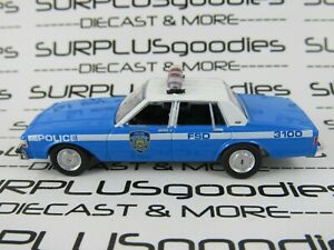 Greenlight-1-64-LOOSE-New-York-City-NYPD-1990-CHEVROLET-CAPRICE-Police-Car-3100