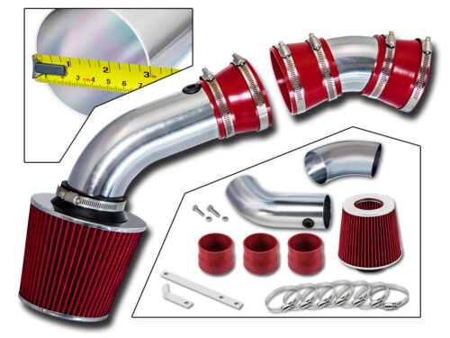 BCP RED 96-99 Chevy C1500 K1500 Suburban 5.0//5.7 V8 Cold Air Intake Filter