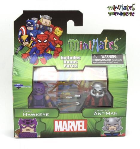 Marvel Minimates Best of Series 3 Classic Hawkeye /& Lab attaque Ant-Man