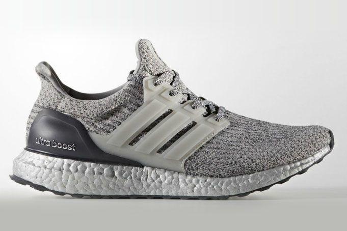 Adidas Ultra Boost 3.0 Silver Super Bowl Size 8.5. BA8143 NMD PK Yeezy
