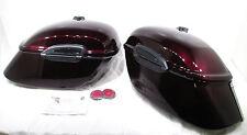 Genuine Yamaha 99-11 XV1600/1700 Road Star Hard Saddlebags Black Cherry NOS New