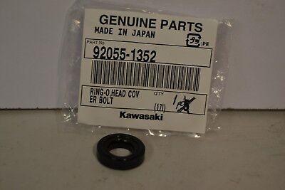 NOS KAWASAKI 92055-1352 CYLINDER HEAD COVER BOLT O-RING ZX600 ZX750 ZX900