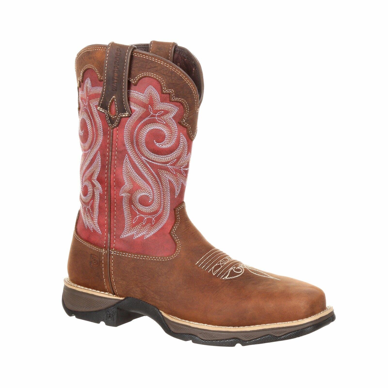 Durango Women's Rebel Waterproof Composite Toe Western Work Boots - DRD0220