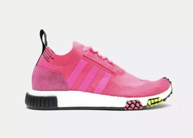 adidas Originals NMD Racer PK Men's Size 11 Primeknit Boost Pink Shoes CQ2442
