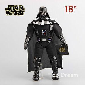 Cartoon-Star-Wars-Darth-Vader-Plush-Toy-Soft-Stuffed-Doll-Figure-16-5-039-039-Gift