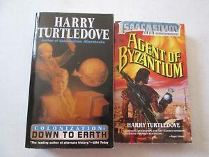 HARRY TURTLEDOVE LOT 2 PAPERBACKS Agent of Byzantium Colonization ...