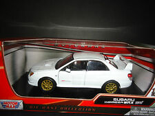 Motormax Subaru Impreza WRX STI White 1/24