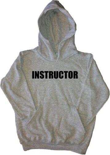 Sweat à capuche enfants instructeur