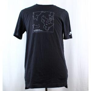 Nike Sportswear Impreso Tee Hombre Camiseta Negro Estampado