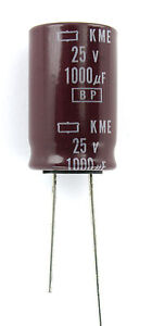 24pc NCC Nippon Chemi-con SME Radial Capacitor 10uf 100v BP NP Bipolar for sale online