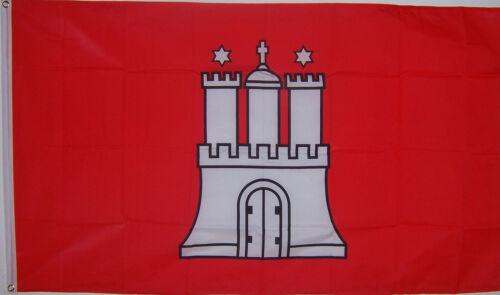 NEW 3ftx5 HAMBURG GERMANY GERMAN BANNER FLAG