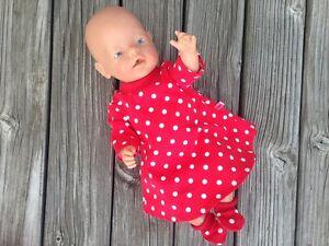 Kleidung 40-45 cm Krümel Muffin NEU Schuhe 5-tlg für little Baby Puppen Gr