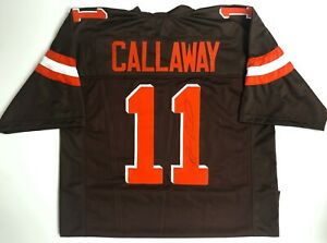 best cheap 773bb e3a8d Details about ANTONIO CALLAWAY CLEVELAND BROWNS SIGNED JERSEY (OSG COA)