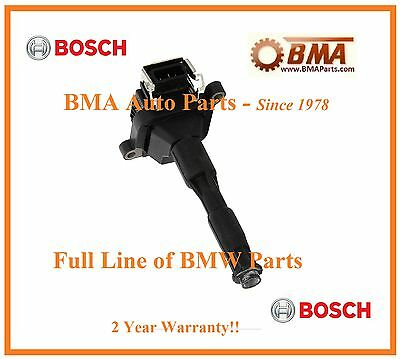 00110 New Bosch OEM BMW Ignition Coil  00143-0221504029 0221504004