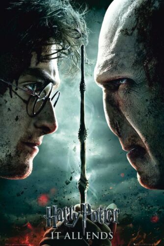 Poster Harry Potter Teaser Art for Deathly Hallows Part II It All Ends Voldemort