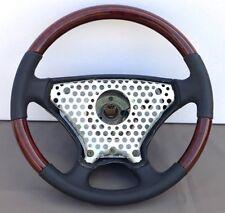 Lenkrad Sportline Wurzelholz Mercedes ohne Airbag W201 W124 Bj. 90-93