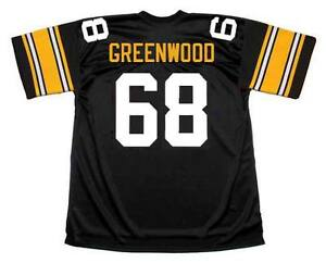 Image is loading L-C-GREENWOOD-Pittsburgh-Steelers-1979-Throwback-Home-NFL- 7efacb906