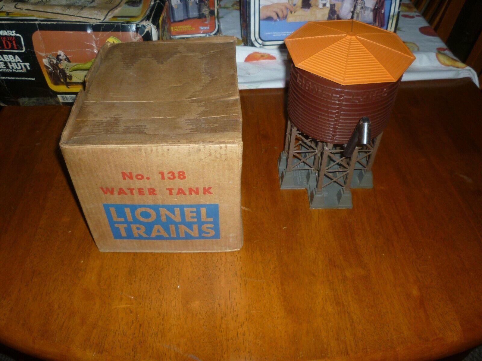 Vintage de posguerra Lionel Tanque de agua en Caja Original