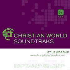 Yolanda Adams - Let Us Worship - Accompaniment CD New