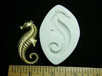 Seahorse Polymer Clay Mold (md1221)