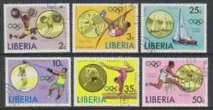 Liberia - 1976, Olympic Games, Montreal set - CTO - SG 1270/5 (j)