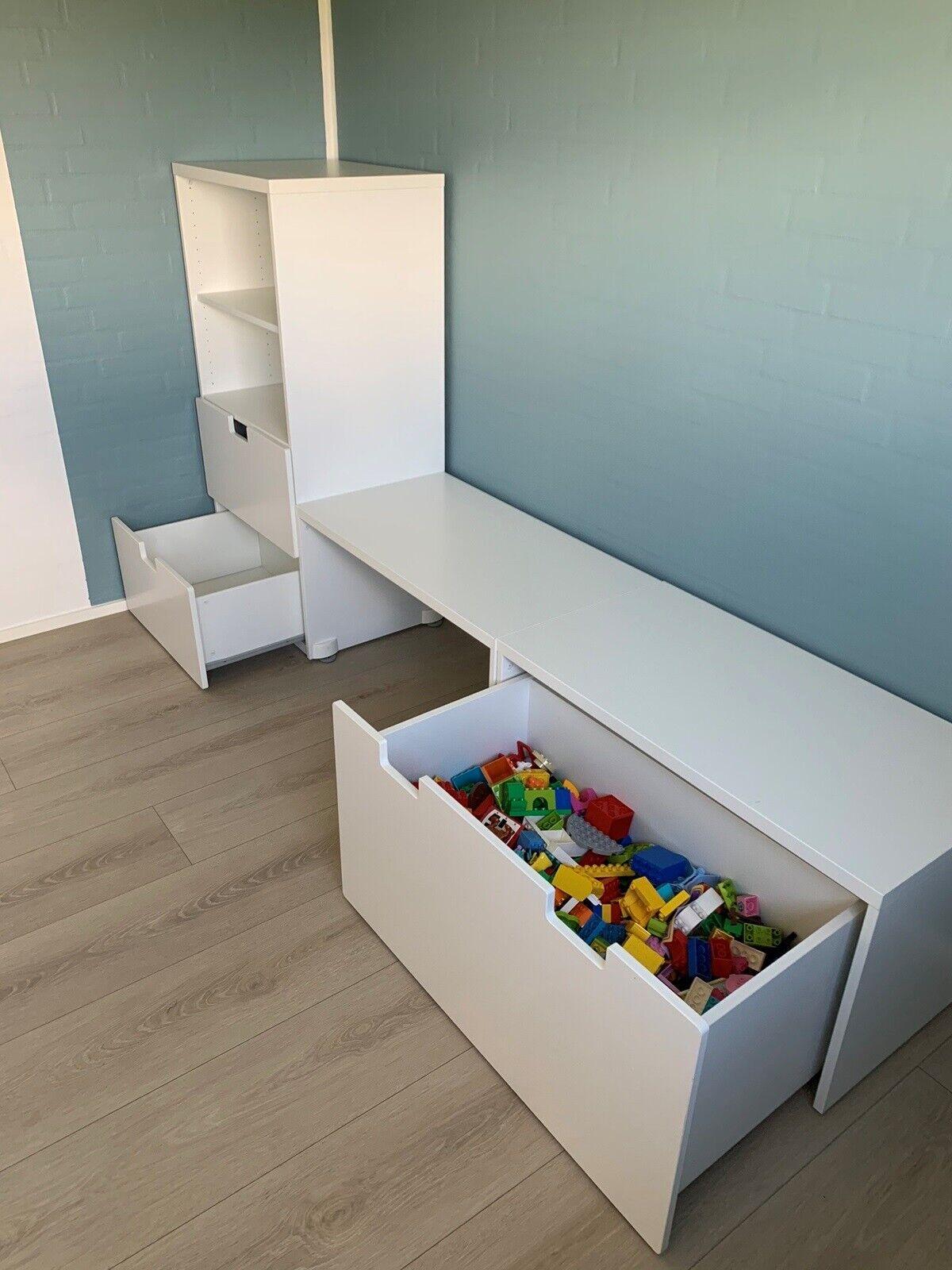 Picture of: Opbevaring Ikea Stuva Dba Dk Kob Og Salg Af Nyt Og Brugt
