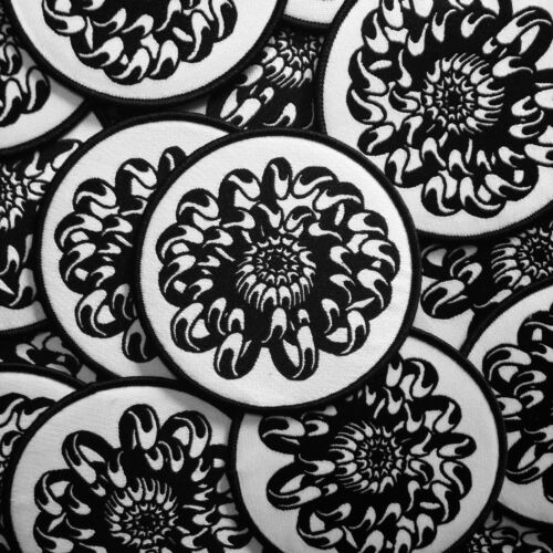 Chrysanthemum Iron-on Patch