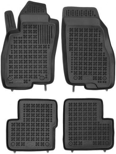 2005-2009 4-teilige schwarze Gummifußmatte für FIAT Grande Punto Bj