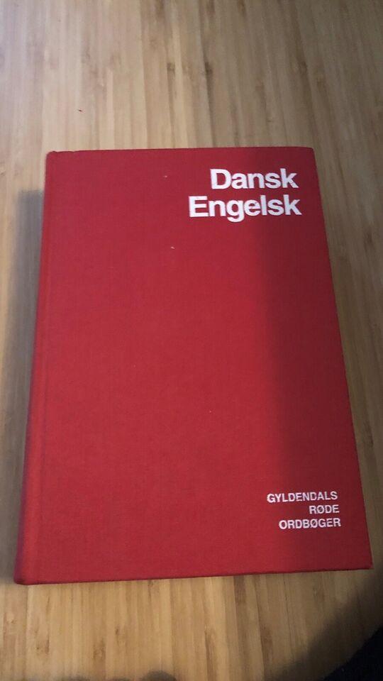 ordbogen gyldendal dansk engelsk