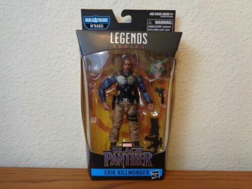 Marvel Legends Erik Killmonger Black Panther Wave 2 No M/'Baku BAF