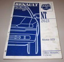 Werkstatthandbuch Renault Twingo I Motor D7F Gemischaufbereitung Motorsteuerung!