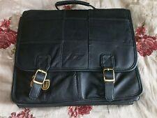 Essa spalla CASE del laptop, nero in finta pelle spalla valigetta