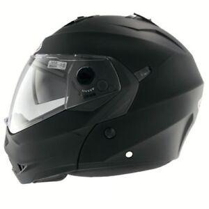 caberg-duke-AVANT-basculable-cote-moto-Moto-sports-casque-Noir-Mat