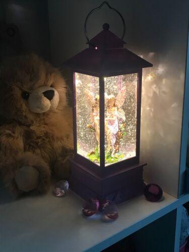 ~❤️~FAIRY LANTERN Pink Or Purple LED Night Light 30cms Snow Globe Batts Inc~❤️