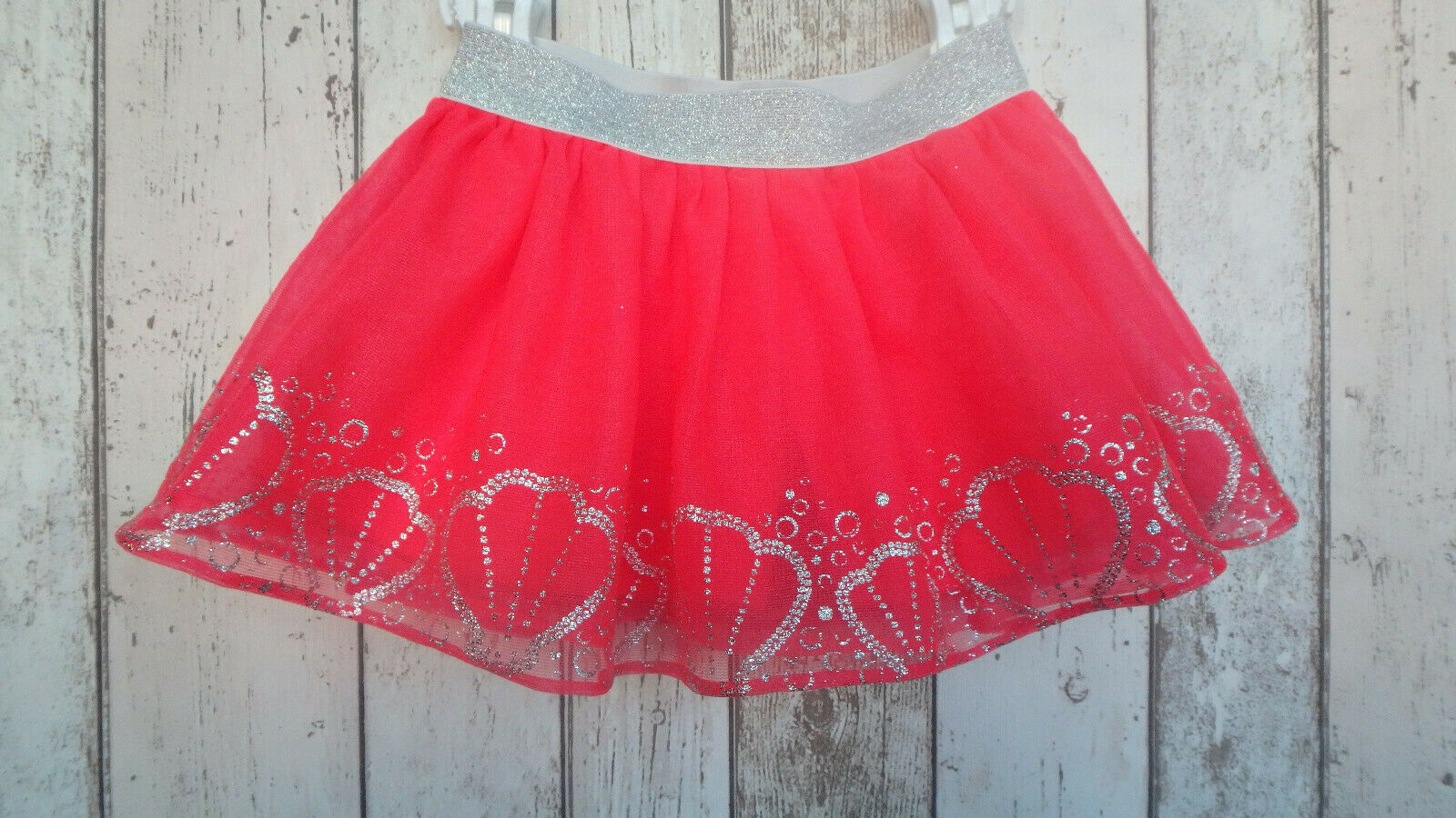** Gorgeous Girls Shell Print Tutu Skirt - Disney (3 years) **