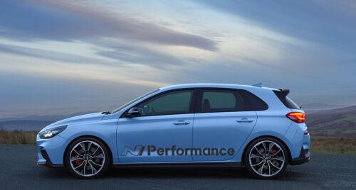 N Performance Autocollant POUR HYUNDAI i30n Mach Hatchback Styling Tuning