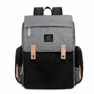 LAND-Mummy-Baby-Diaper-Bag-Maternity-Nappy-Backpack