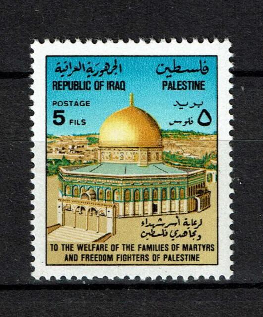 Iraq MiNr. 912 fresco postale-felsendom, Gerusalemme (W)