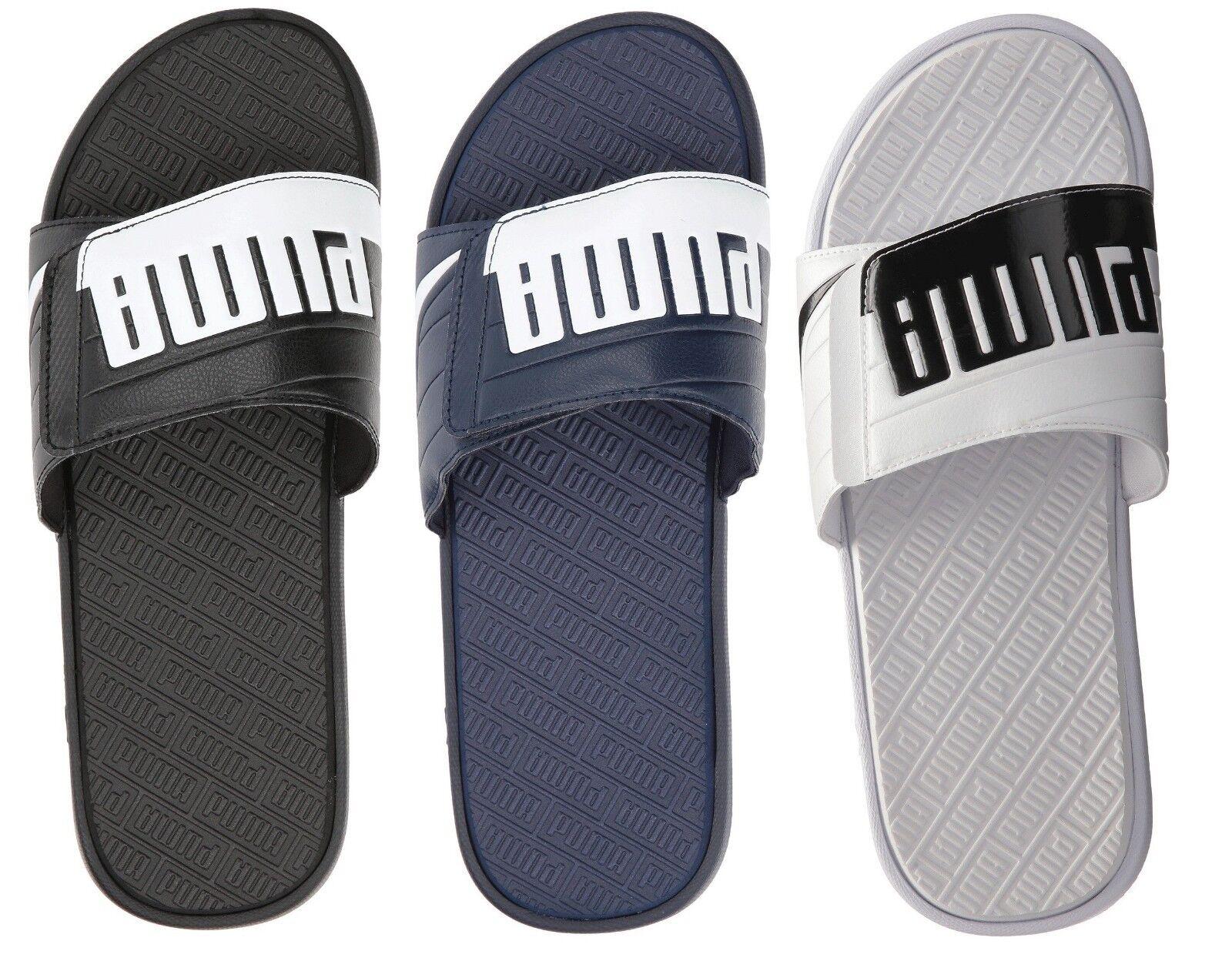 NEW Puma Men's Fashion shoes Starcat Bold Plus Slip On Slide Sandals Many colors