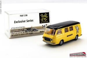 BREKINA-H0-1-87-Furgone-Fiat-238-MICHELIN