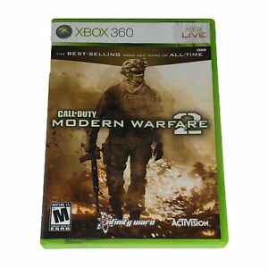 Call of Duty: Modern Warfare 2 (Xbox 360, 2009) Complete w/Manual
