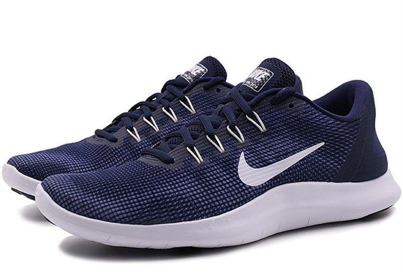 Nike Flex rn running 2018 nuevo jogging Midnight Navy nuevo gr 42 us 8, 5 nuevo presto